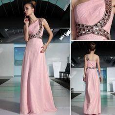 キラキララインがステキなピンク系パーティドレス♪ - ロングドレス・パーティードレスはGN|演奏会や結婚式に大活躍!