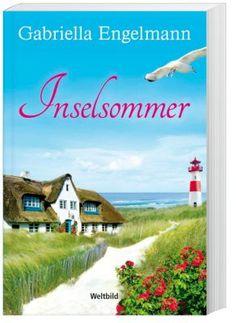Inselsommer - Eigentlich ist die 45-jährige Paula glücklich - mit ihrem Mann Patrick und ihrer Galerie in Hamburg. Doch warum muss sie dann ständig an den deutlich jüngeren Vincent denken…? #buch #liebe #sommer #weltbild