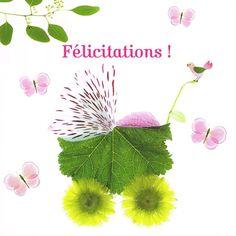 félicitations au naturel