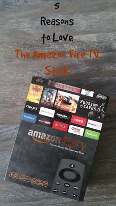 Reasons to Love The Amazon Fire TV Stick      Found on -http://wonderpiel.com/