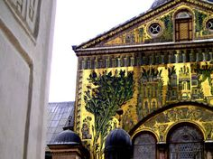 Umayyad Mosque Facade, Once A Church
