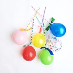 Prepare yourself for squeals of delight from your little guests and all those young at heart with these gorgeous and unique mini ballon pops by Poppies For Grace! These look FABULOUS on cakes, cupcakes, strung up on a garland and more - get creative! Happy Balloons, Mini Balloons, Blue Balloons, Letter Balloons, Helium Balloons, Online Party Supplies, Kids Party Supplies, Poppies For Grace, Party Co