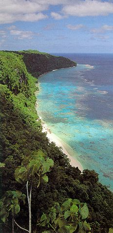 East Rennell (UNESCO World Heritage Site), Solomon Islands - the largest raised coral atoll in the world