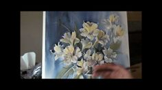 Painting flowers in watercolor. Would love to have seen this done a LOT slower! Watercolor Video, Watercolour Tutorials, Watercolor Techniques, Watercolor Cards, Watercolor Paintings, Watercolours, Painting Flowers, Watercolor Flowers, Flower Paintings