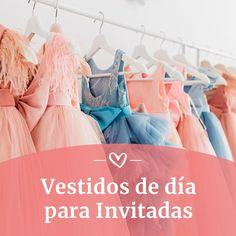 Vestidos de día para invitadas Tulle, Ballet Skirt, Skirts, Fashion, Day Dresses, Civil Wedding, Wedding Invitations, Boyfriends, Moda