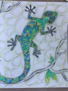 """Bastel-Kreativ-Blog von Ke-Si: Gecco-Challenge in """"Color your day !"""""""