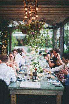 jolie idee pour decoration table mariage pas cher table en bois table rustiqu