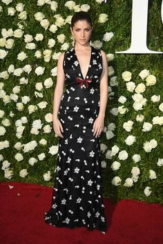 Tony Awards 2017: The Best Dressed Celebrities on the Red Carpet - June 11, 2017:  Anna Kendrick in Miu Miu