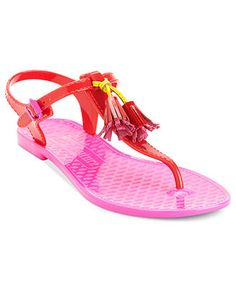 Juicy Couture Shoes, Wisp Flat Jelly Sandals - Shoes - Macy's