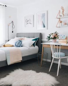 Teenage Girl Design | Modern Bedroom Design |
