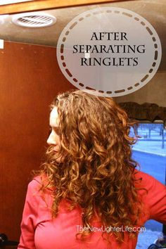The BEST Curly hair tips. I do this same thing and it works wonders. My Curls are on point!