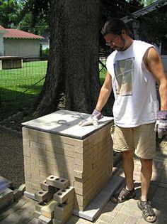 Build a Raku Kiln.....love the raku process, so rustic!
