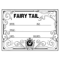 Fairy tail OC (Large) ❤ liked on Polyvore featuring surveys, anime and fairy tail
