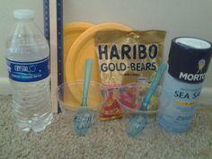 Gummy bear osmosis
