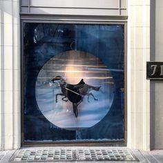 "HERMES, Collins Street, Melbourne, Victoria, Australia, "" Flying Horses... Don't Come Cheap"", photo by Red Exhibitions, pinned by Ton van der Veer"