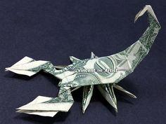 Free Money origami Folding patterns for men Origami Car, Origami Yoda, Origami Mouse, Origami Star Box, Money Origami, Origami Dragon, Origami Paper Art, Origami Fish, Origami Folding