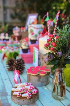 Lovely woodland themed party