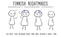 Finnish Nightmares That Every Introvert Will Relate To Meanwhile In Finland, My Heritage, Introvert, Fun Facts, My Books, Comic Books, Comics, My Love, Funny