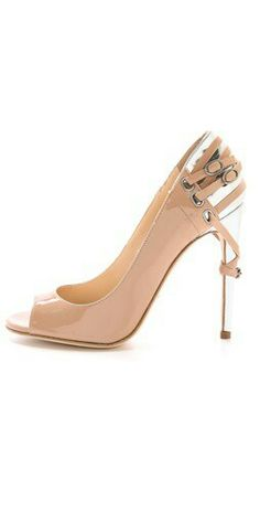 "Jerome C Rousseau - ""Lover"" Open Toe Pump"
