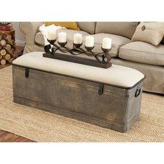 Dublin Upholstered Storage Bench