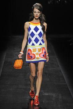 Moschino RTW Spring 2013 - Runway, Fashion Week, Reviews and Slideshows - WWD.com