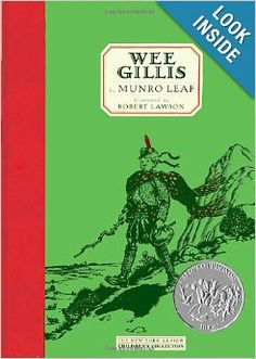 Wee Gillis (New York Review Children's Collection): Munro Leaf, Robert Lawson: 9781590172063: Amazon.com: Books