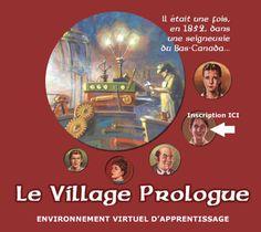 Le Village Prologue : micro-monde représentatif d'une seigneurie du Bas-Canada au XIXe siècle
