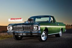 Two years of hard slogging turned this XY Falcon Ute from a rust bucket into a stunner Australian Muscle Cars, Aussie Muscle Cars, Big Trucks, Pickup Trucks, Custom Radiator, Ford F Series, Old Fords, Ford Falcon, Nissan Skyline