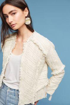 Slide View: 1: Violette Lace Embroidered Jacket