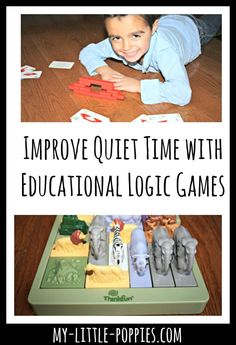 Improve Quiet Time with Educational Logic Games | My Little Poppies