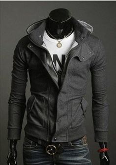 New Fashion Korean Men's Slim Fit Hoodie Sweater Male Jacket/Coat/Sweatshirt/Top | eBay