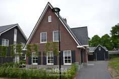European House, Outdoor Living, Outdoor Decor, Netherlands, New Homes, Shed, Exterior, Outdoor Structures, Cabin