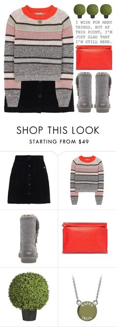 """I'M STILL HERE"" by emmas-fashion-diary ❤ liked on Polyvore featuring Superdry, Bottega Veneta, UGG Australia, Loewe and Sia"