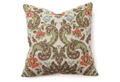 CHECK OUT THE ITALIAN PILLOWS SPECIAL ON ONE KINGS LANE GUYS! .......Tula 22x22 Cotton Pillow, Multi on OneKingsLane.com