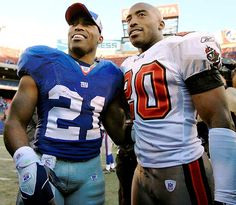 Tiki and Ronde Barber (1975-): Identical twin American pro football players who starred with the New York Giants (Tiki) and the Tampa Bay Buccaneers (Ronde). After retirement, along with TV engagements as hosts and commentators they have been co-authoring a series of inspiring children's books on sports.  Born 5 weeks early, they sprinted out of the incubator after only 2 weeks.