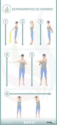 6 estiramientos para cuidar tus hombros y brazos
