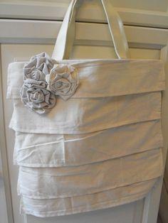 Ruffle Tote Bag