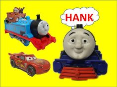Thomas and Friends Toy Trains HANK with Ryan and Thomas and Disney Cars for Children
