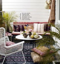lovely terrace #decor #outdoors