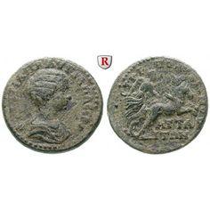 Römische Provinzialprägungen, Mysien, Attaia, Plautilla, Frau des Caracalla, Bronze, ss+: Plautilla, Frau des Caracalla +211.… #coins