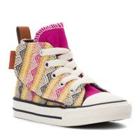 Fit over AFOs:  Girls' Converse Chuck Taylor Simple Step Camp Craft Infant/Toddler - 489067