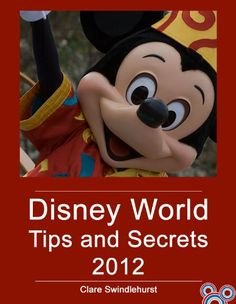Disney World Tips and Secrets for the day I'm brave enough to make the trip :)