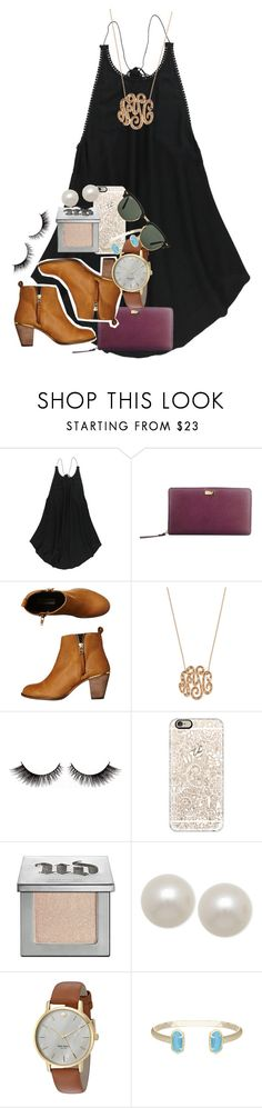 """""""school tomorrow!!"""" by ellaswiftie13 ❤ liked on Polyvore featuring O'Neill, Kate Spade, Steve Madden, Ginette NY, Casetify, Urban Decay, Honora, Kendra Scott and Ray-Ban"""