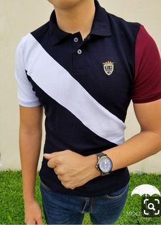Mens Clothes — A Buyer's Guide – Clothing Looks Camisa Polo, Preppy Trends, Polo Shirt Design, Polo Outfit, Mens Polo T Shirts, Senior Shirts, Warm Outfits, Complete Outfits, Men Looks