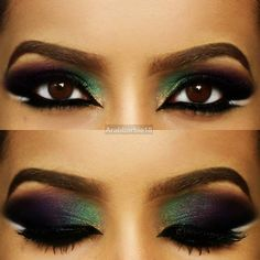 #makeup #eyeshadow #popular #multicolor #newest #2014