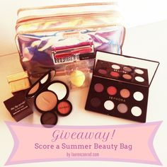 Score a Summer Beauty Bag from LaurenConrad.com! #giveaway