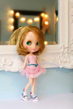 One of my own Blythe dolls! Meet Rowyn, a RBL Nicky Lad.