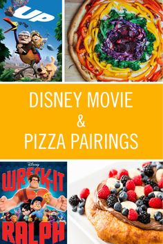 Pizza Recipes for Your Favorite Disney Movies