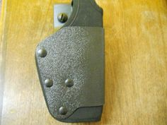 Black Nylon/Plastic Military Sidearm Holster