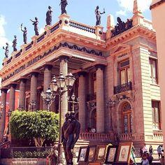 Imágenes del mundo: Teatro Juárez (Guanajuato - México)... #cibervlachoimagenesdelmundo Visita mi Blog: http://cibervlacho.blogspot.com